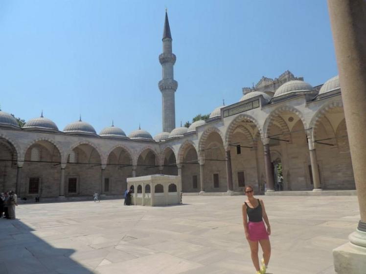 Visitando a Mesquita