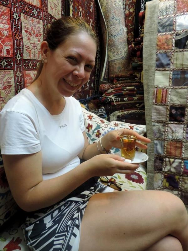 Chá no Gran Bazar