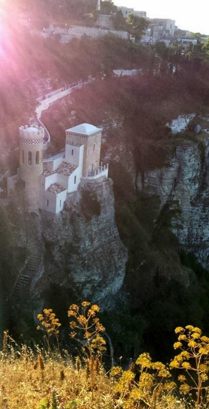 Outro castelo em Érice