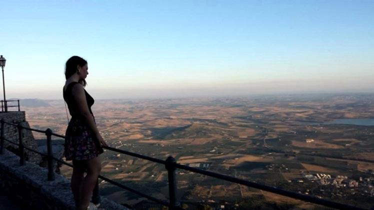 A Sicília a partir de Érice