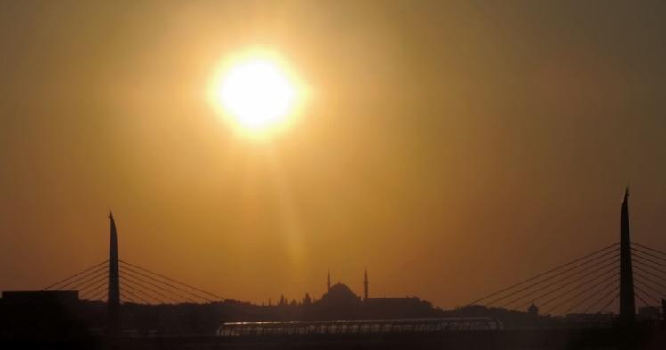 Pôr do sol em Istambul