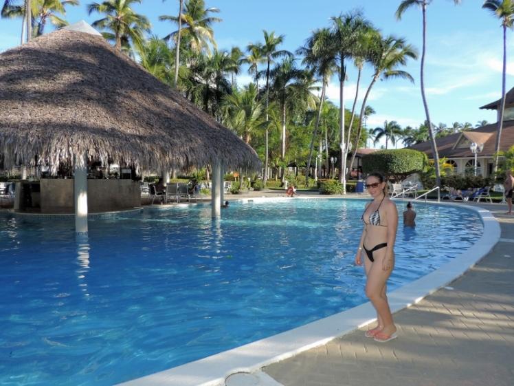 Piscina do resort