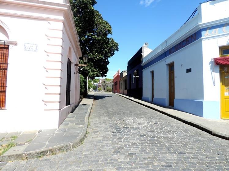 Ruas típicas da cidade
