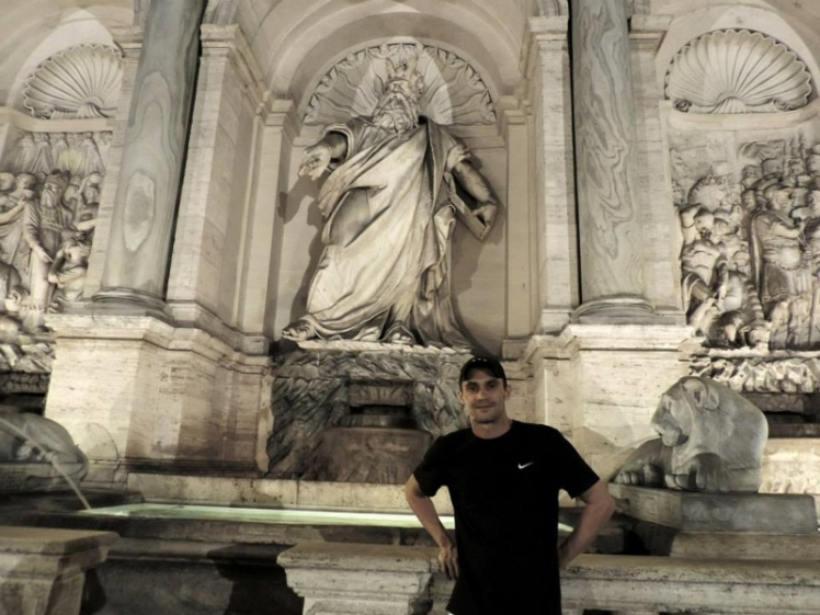 Netuno em uma das famosas Piazzas