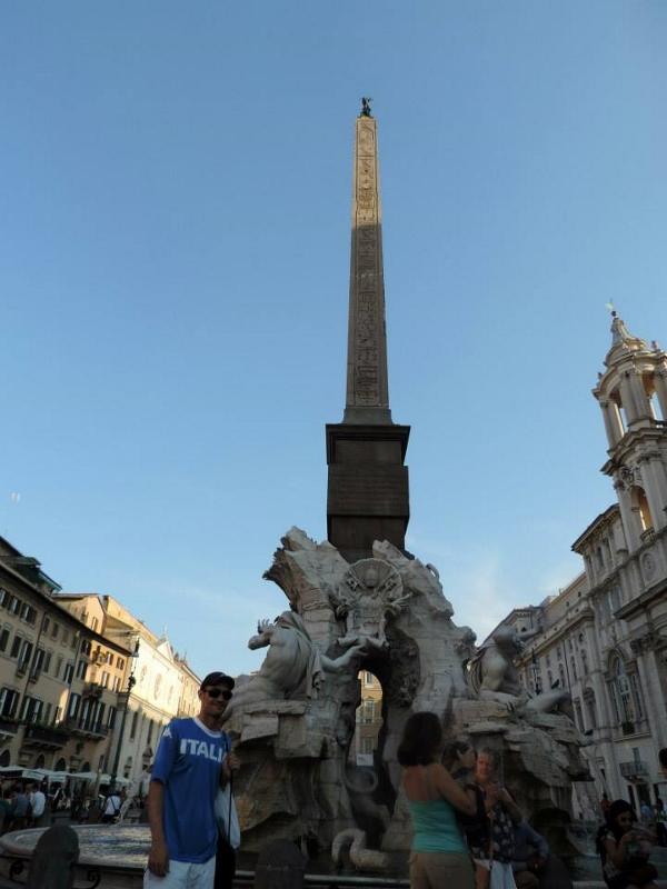 Obelisco - Piazza Navona