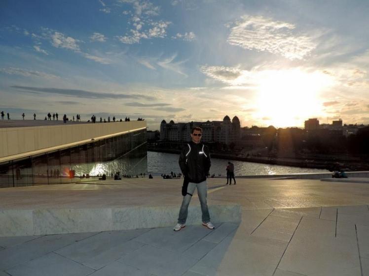 Trip 2013 por conta própria, Oslo - Noruega