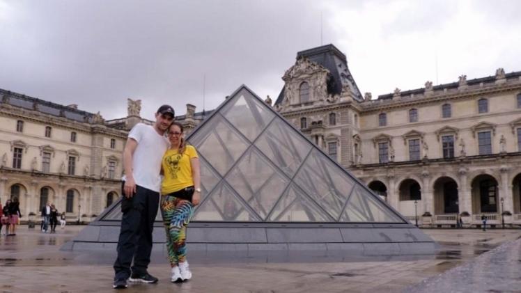Trip 2014 por conta própria - Museu do Louvre, Paris