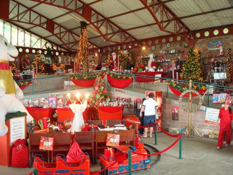 Para quem for na época de natal: Casa do Papai Noel