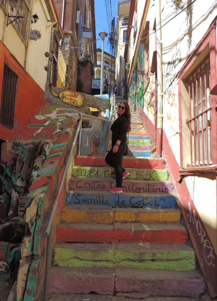 As vielas de Valparaíso