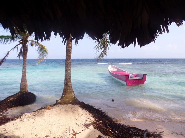 Isla Iguana em San Blas