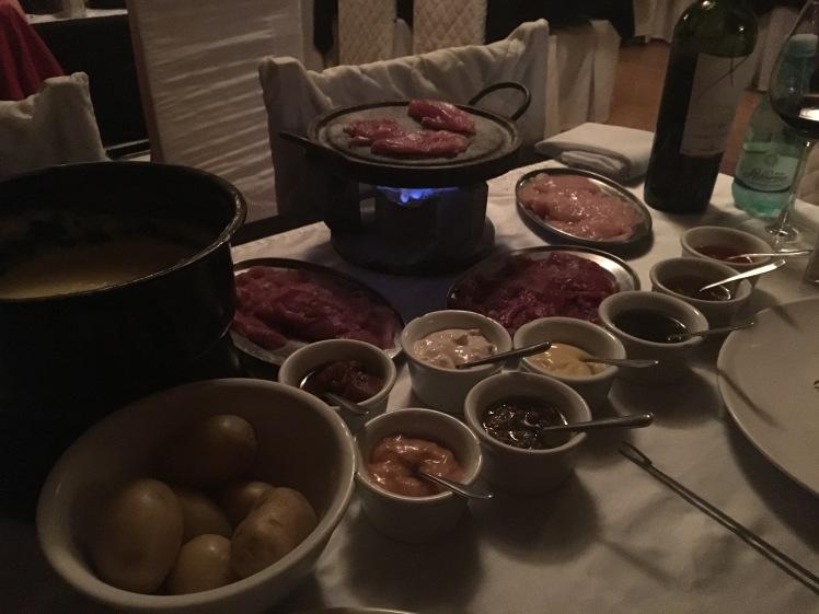 Sequência de fondue - Petit Château
