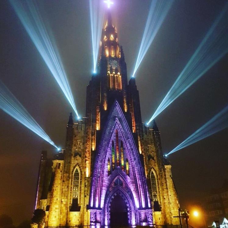 Show de luzes - Catedral de Pedra - Canela