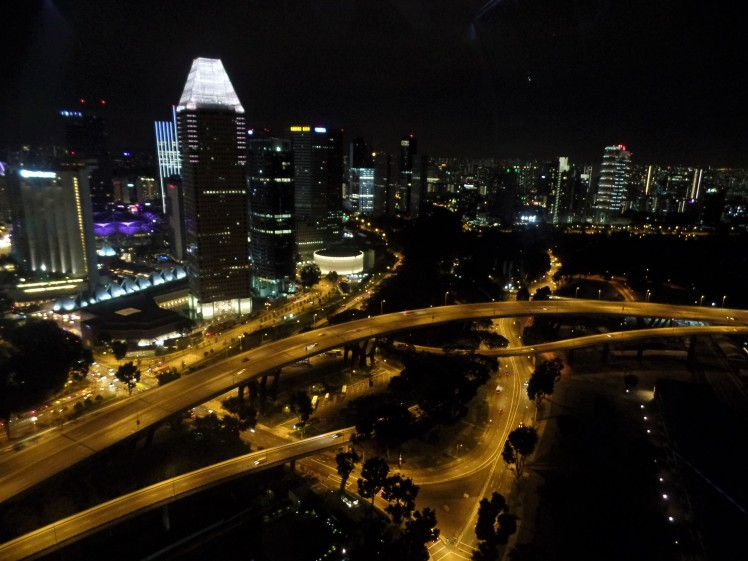 Vista da Singapure Flyer