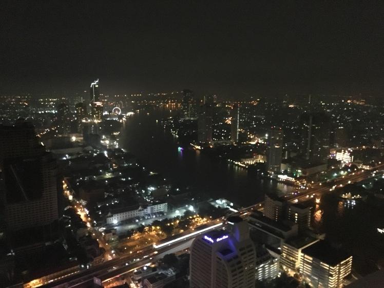 A famosa vista da cidade