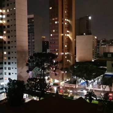 Vista do apartamento