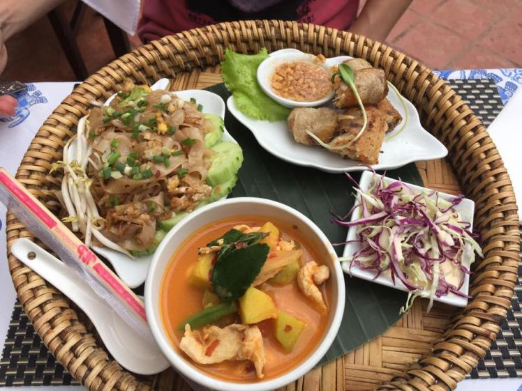 Restaurante top no Laos