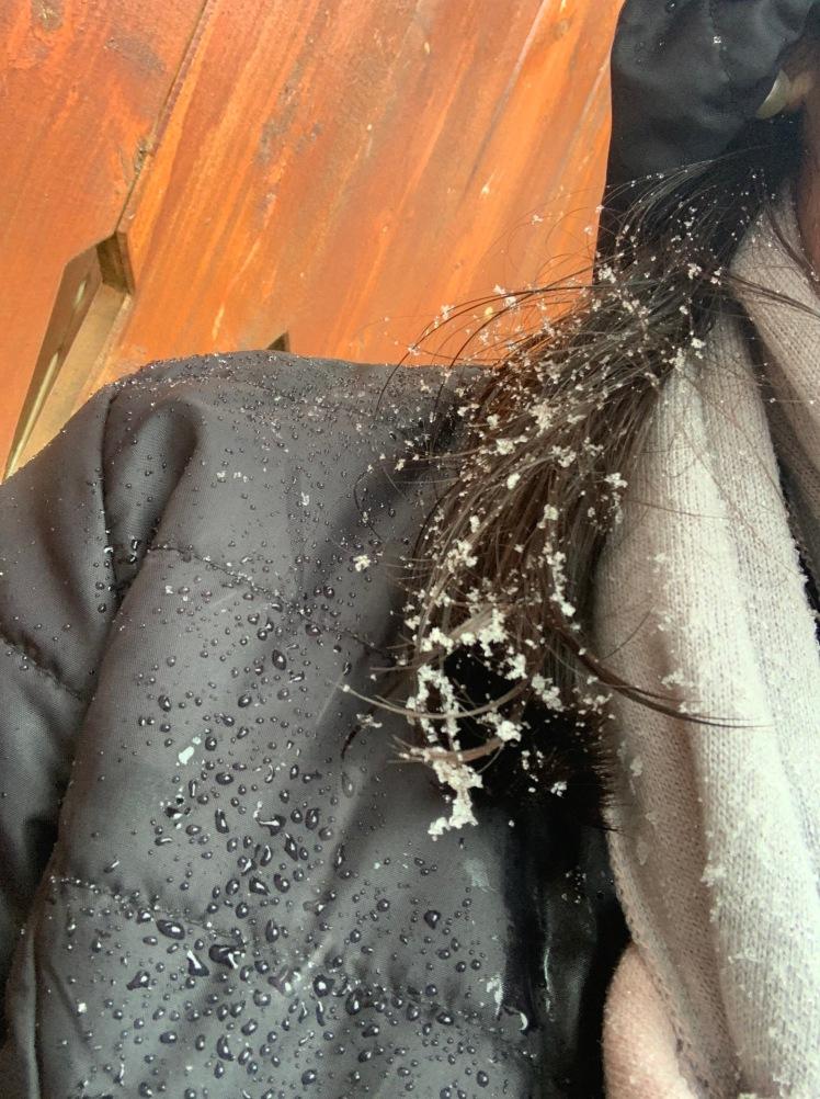 Jaqueta e cachecol Fiero